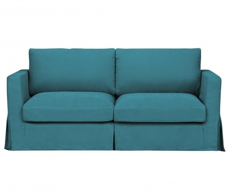 Canapea 3 locuri Jean Turquoise