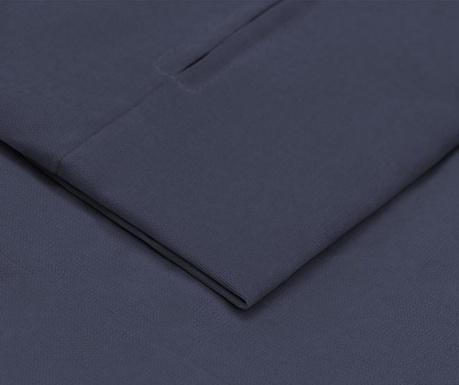 Prevleka za raztegljiv trosed Philippe Dark Blue 90x207 cm