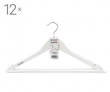 Комплект 12 закачалки Laccato White