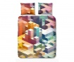 Ložní povlečení Single Ranforce Cubes