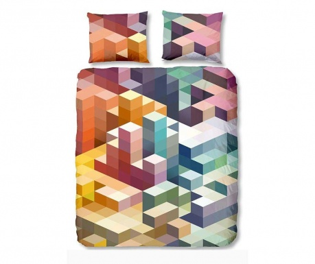 Posteljina Single Ranforce Cubes