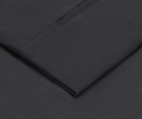 Prevleka za raztegljiv trosed Helene Dark Grey 100x194 cm