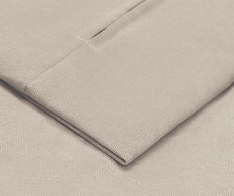Husa pentru taburet pentru picioare Jean Beige 58x78 cm