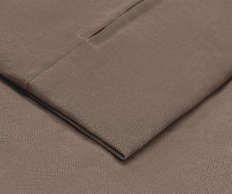 Husa pentru taburet pentru picioare Jean Brown 58x78 cm