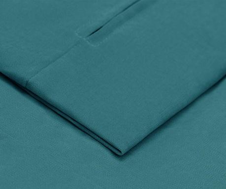 Prevleka za levo kotno sedežno garnituro Helene Turquoise 177x271 cm