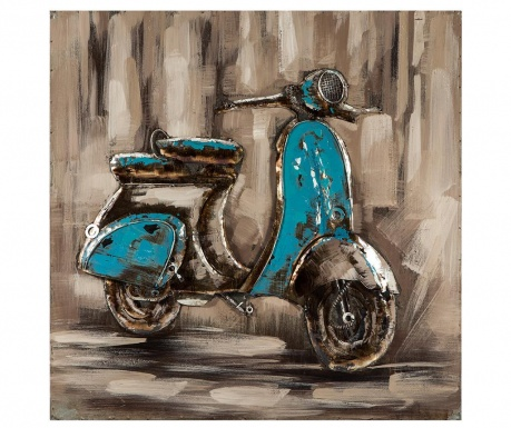 Decoratiune de perete Scooter