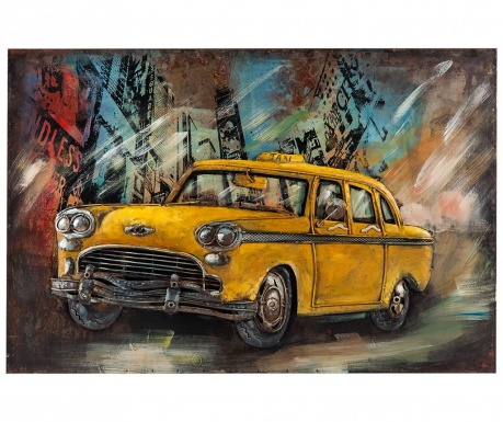 Decoratiune de perete Taxi