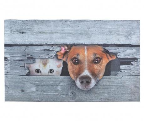 Predpražnik Dog And Cat 45.4x75 cm
