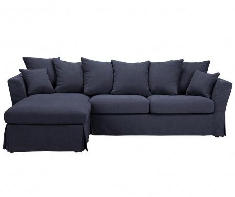 Разтегателен ляв ъглов диван Helene Dark Blue