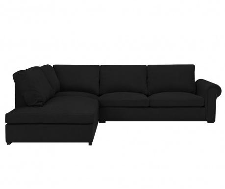 Ляв ъглов диван Antoine Black