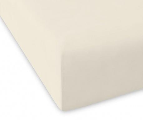 Долен чаршаф с ластик Casual Ivory 160x200 см
