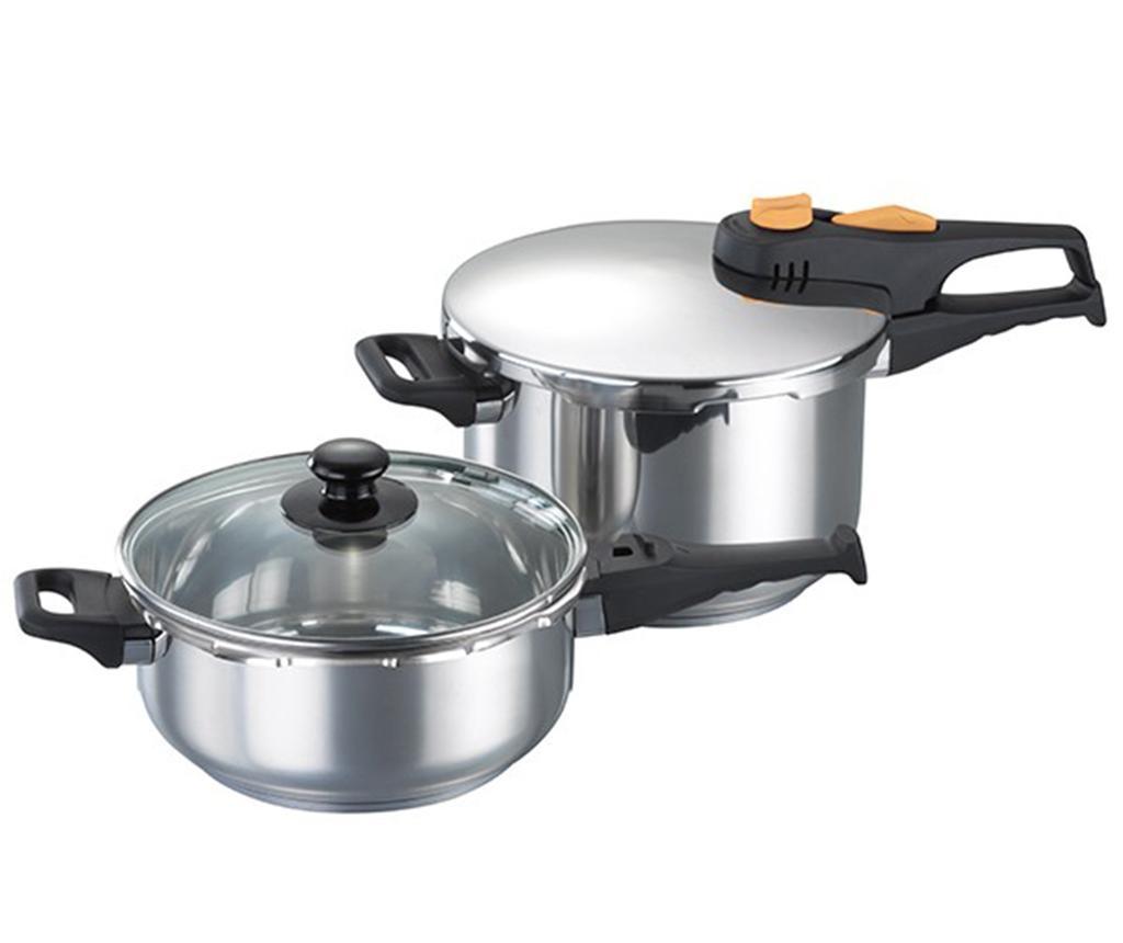Set ekspres lonac i posuda za kuhanje s  poklopcem Pressure Cookware