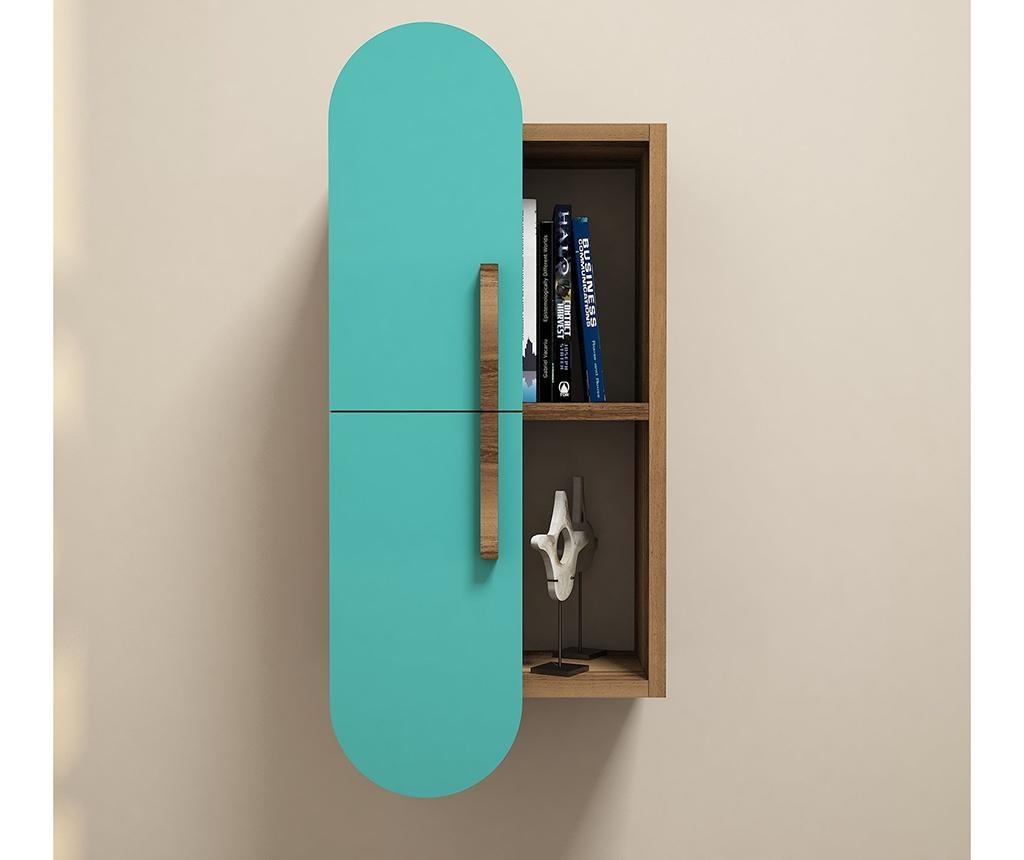 Závěsná skříňka Rose Turquoise