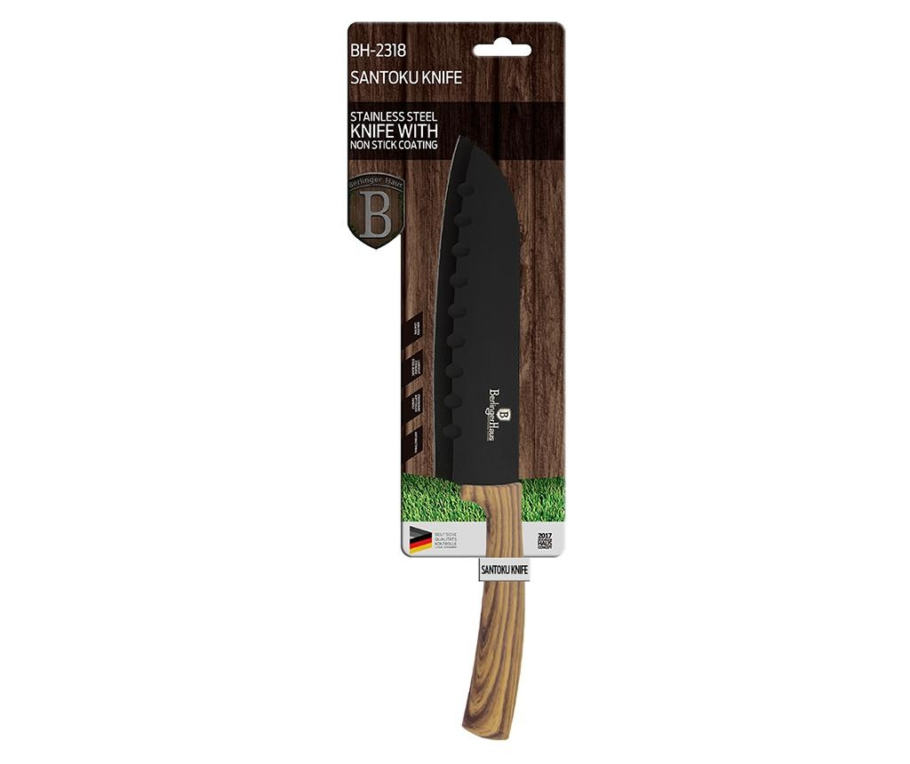 Santoku nož Ebony Maple