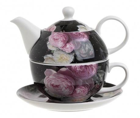 Комплект чайник с чашка и чинийка Judd
