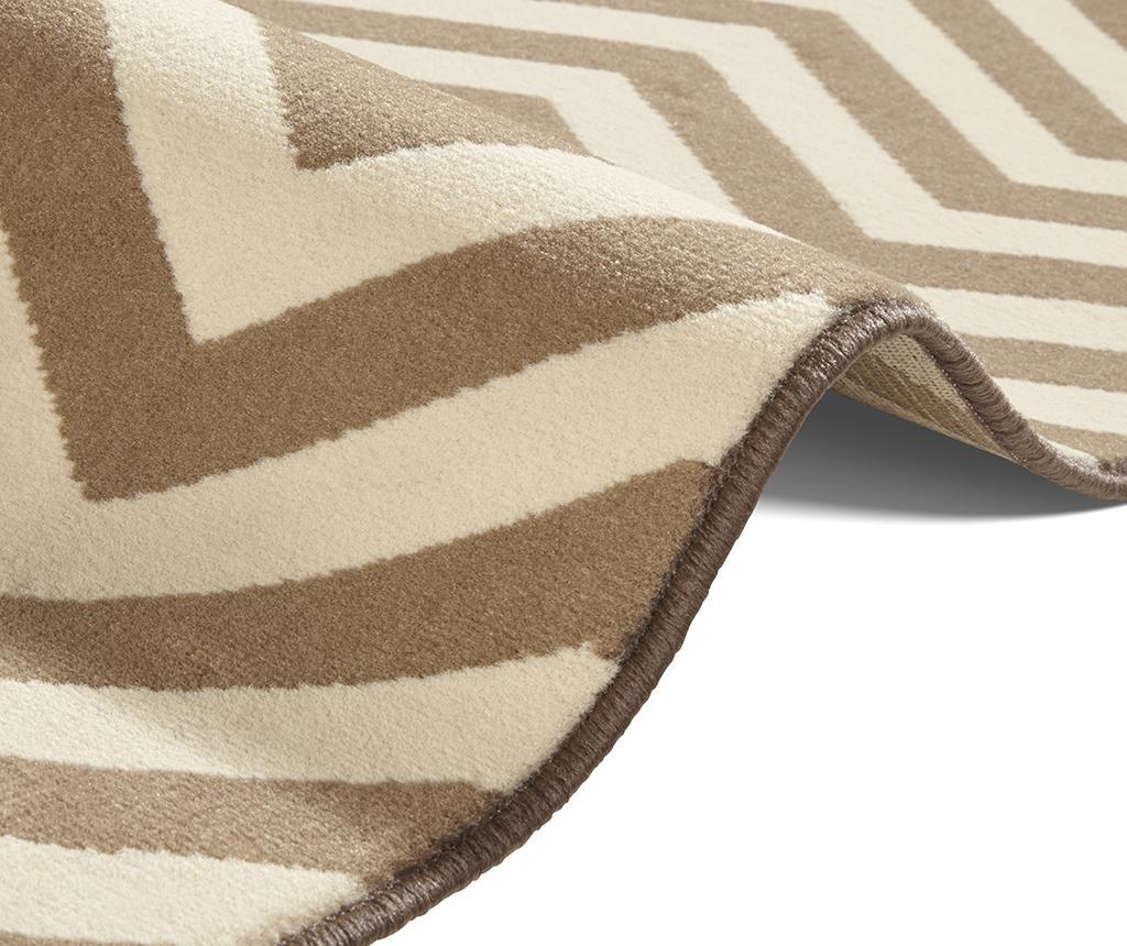 Covor Meridian Brown Cream 120x170 cm