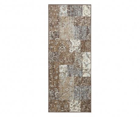 Covor Kirie Brown Blue 80x150 cm