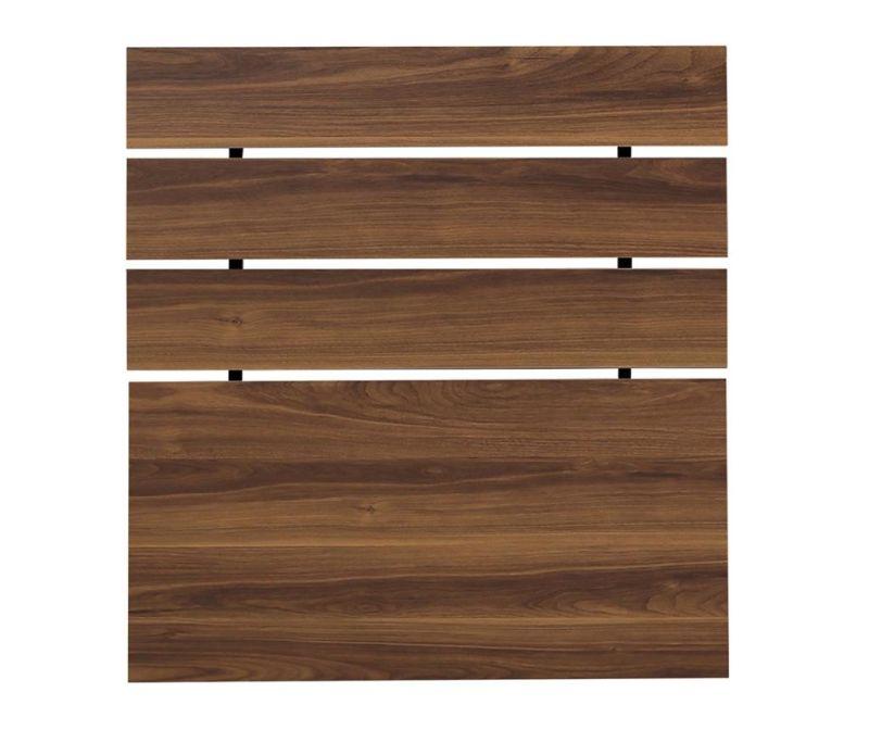Tablie de pat Fuga Walnut Brown 100x100 cm