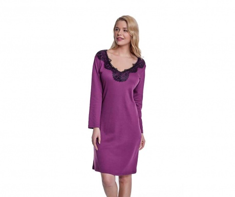 Koszula nocna damska Aubrey Purple