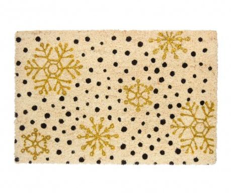 Covoras de intrare Festive Gold 40x60 cm