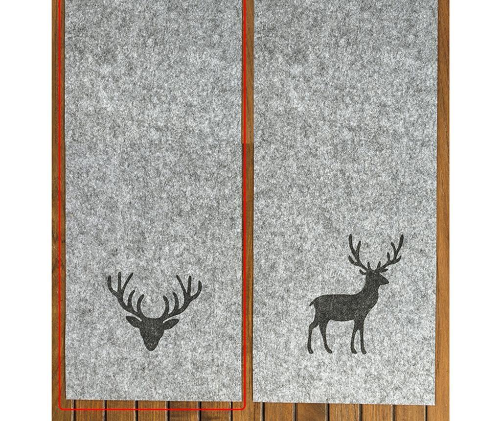 Deer Portrait Tjark Asztali futó 30x120 cm