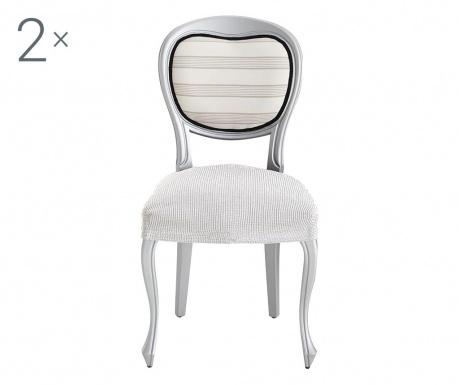 Ulises Ecru 2 db Elasztikus huzat székre