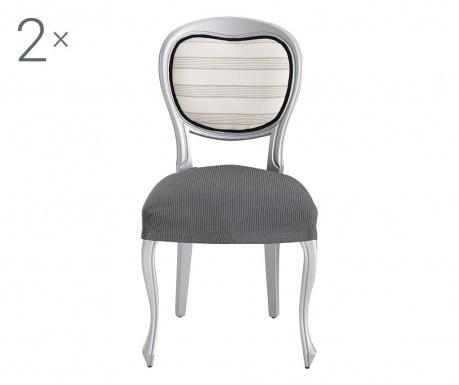 Sada 2 poťahy na stoličky Ulises Grey