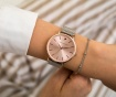 Set ženski ručni sat i narukvica Emily Westwood Sarah Glam Miriam Silver