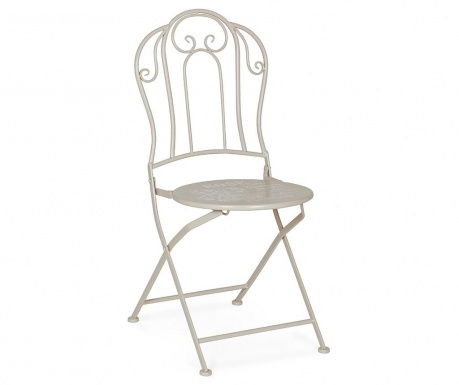 Exteriérová skladacia stolička Fleurs