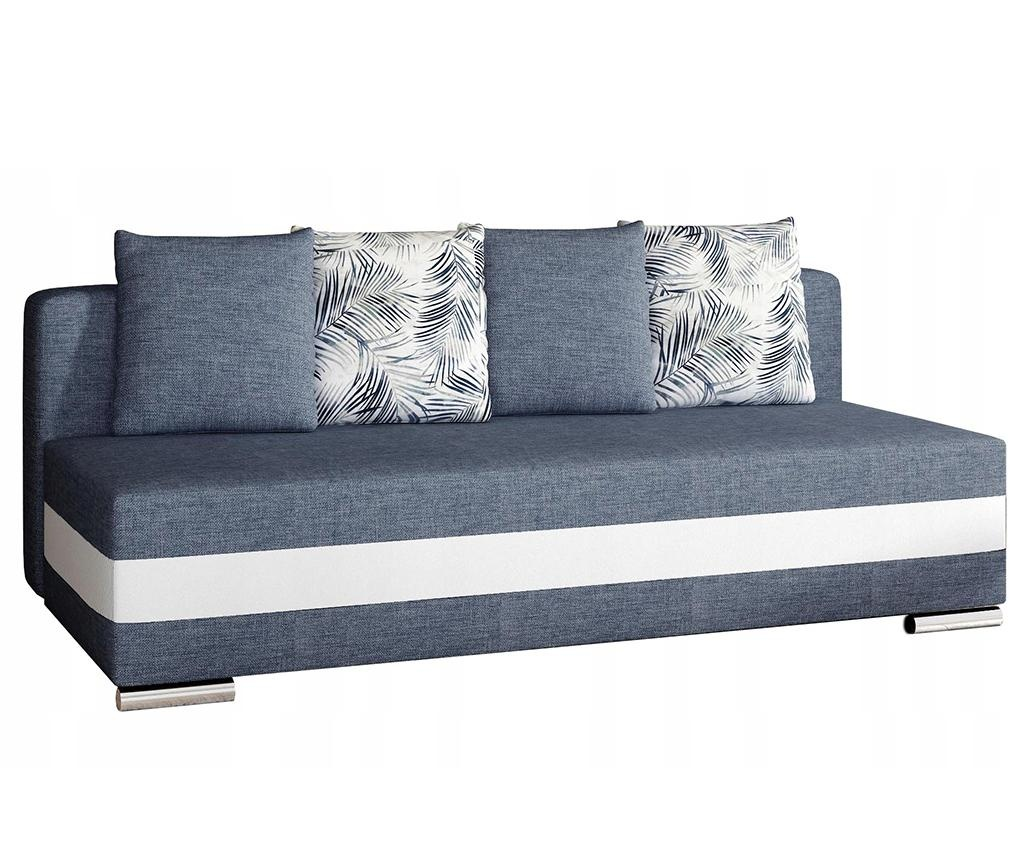 Kauč četverosjed na razvlačenje Calia Blue