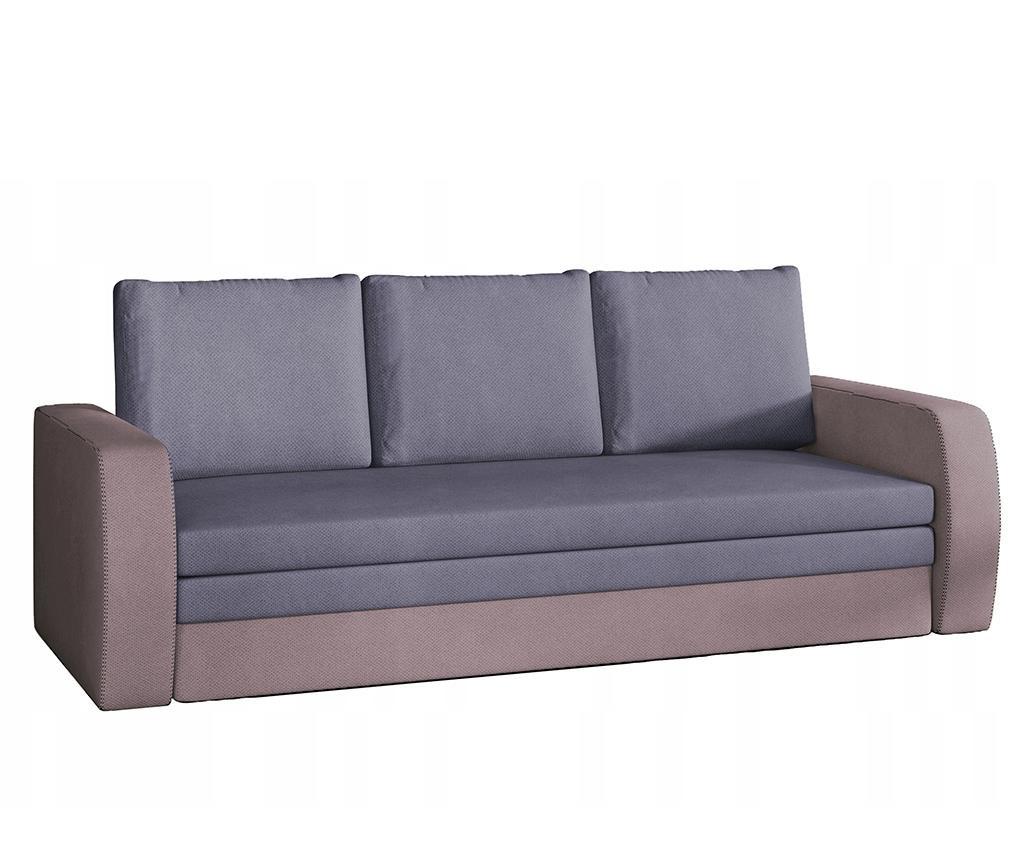 Kauč trosjed na razvlačenje Inversa Pink Blue