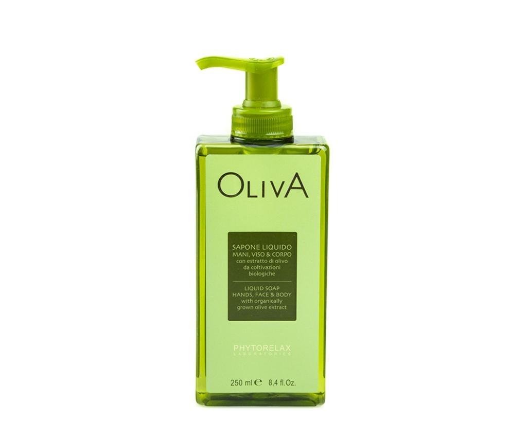 Sapun lichid pentru fata si corp Oliva 250 ml