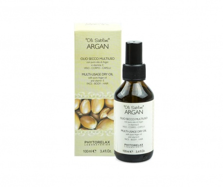 Multifunkční suchý olej Argan Care 100 ml