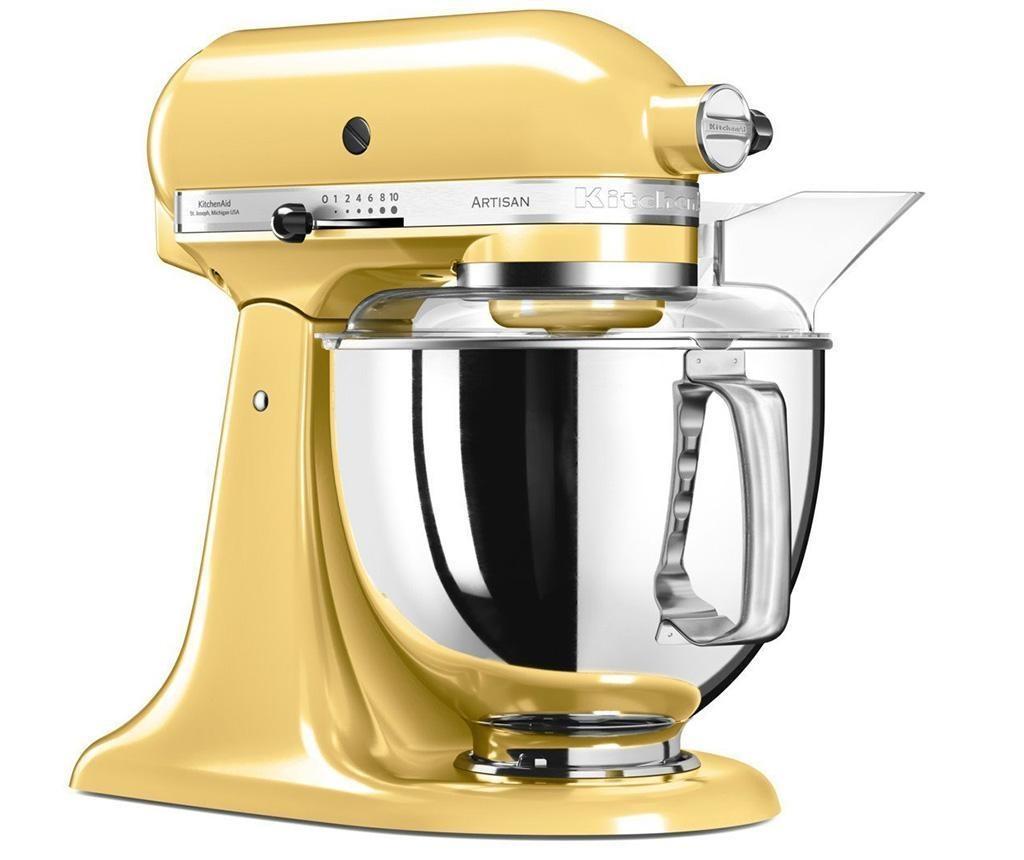 Višenamjenski mikser sa zdjelom KitchenAid Artisan Elegance Yellow