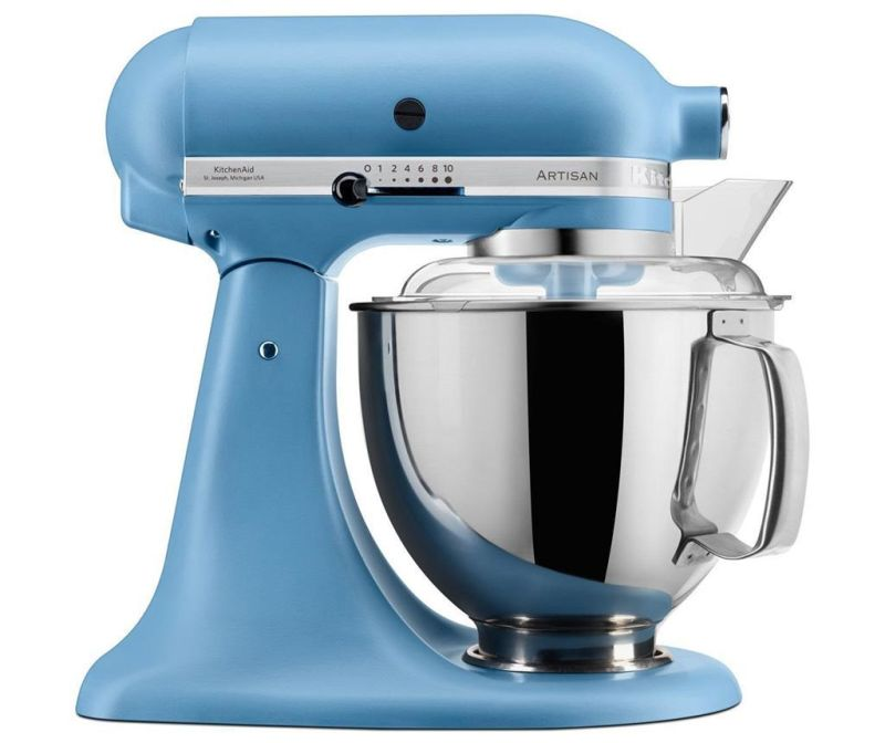 Samostoječi mešalnik KitchenAid Artisan Elegance Blue