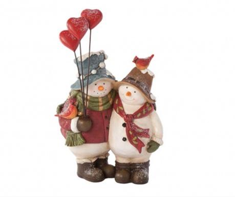 Decoratiune Snowmen Couple