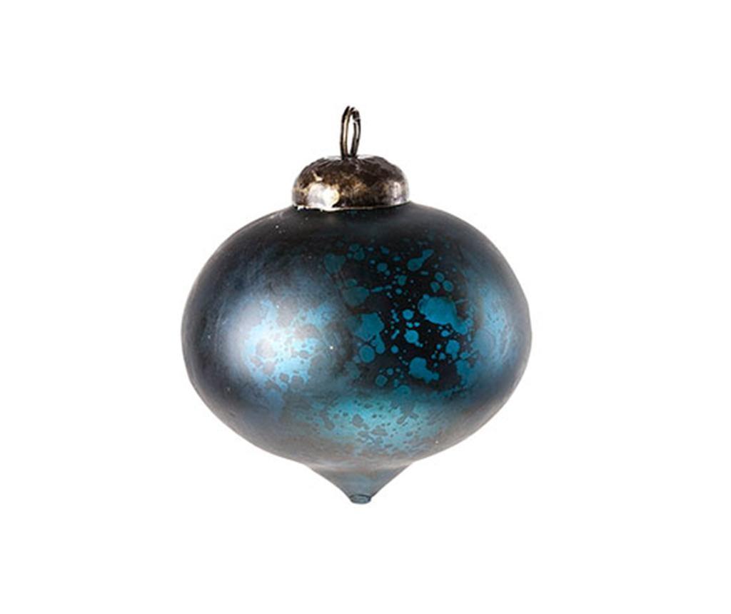 Glob decorativ Onion Antique Petrol