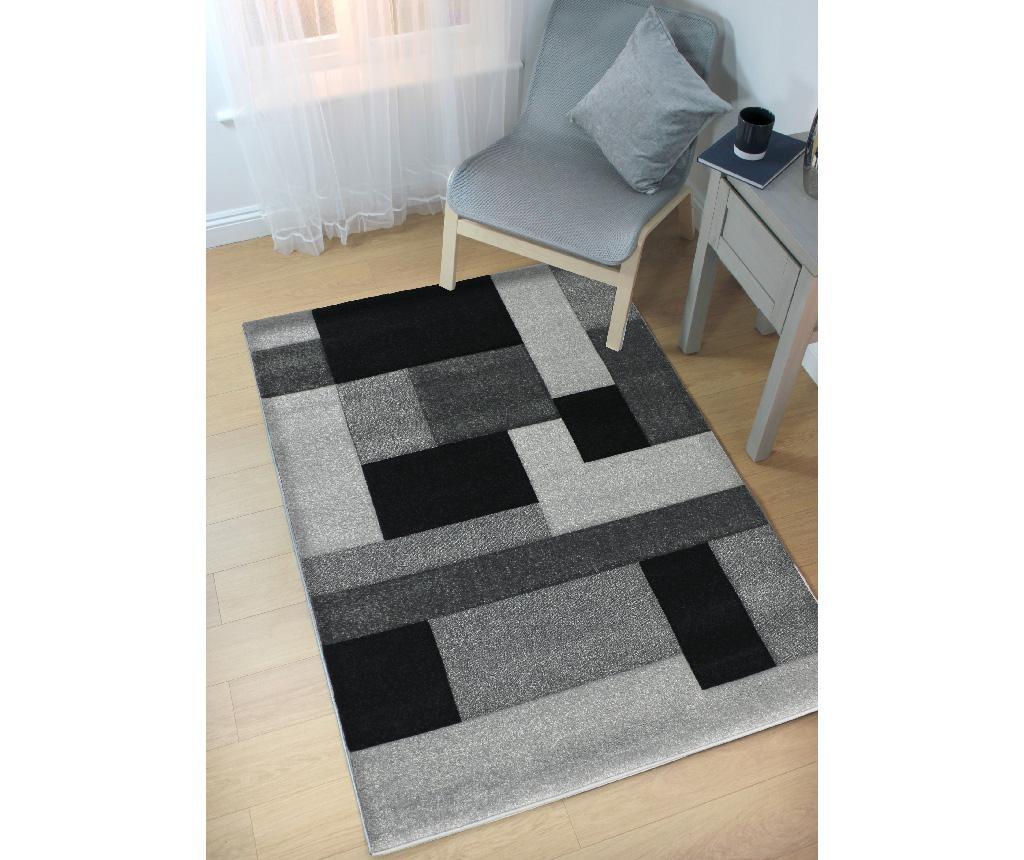 Cosmos Black Grey Szőnyeg 160x230 cm