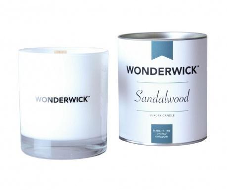 Mirisna svijeća Wonderwick Sandalwood Blanc