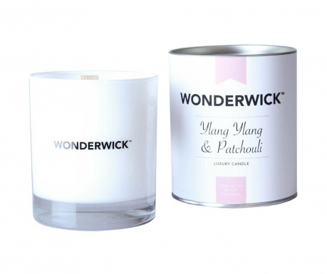 Dišeča sveča Wonderwick  Ylang Ylang and Patchouli Blanc