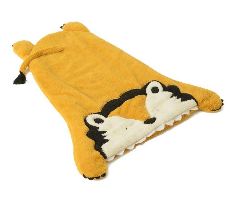 Sac de dormit pentru copii Lion Yellow 0-12 luni