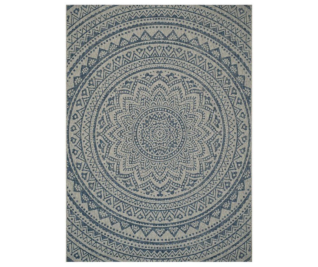 Kalena Grey Blue Szőnyeg 160x231 cm