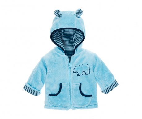 Hanorac copii Teddy Blue 8 luni