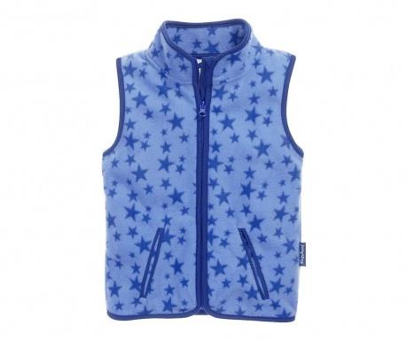 Dětská vesta Stars Blue 10 měs.