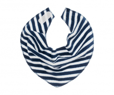 Śliniak Stripes Navy