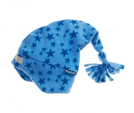Otroška kapa Stars Blue 49 cm