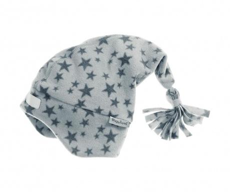 Dětská čepice Stars Grey