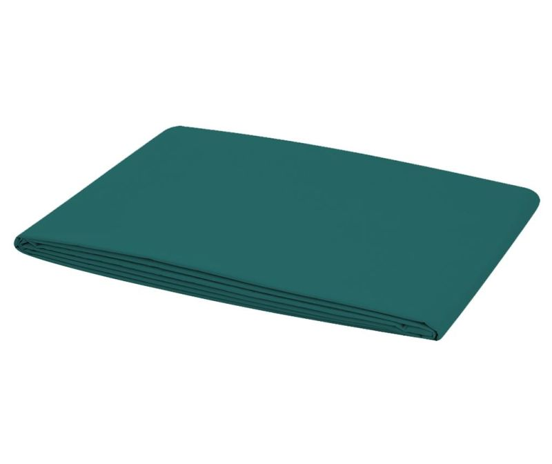 Cearsaf de pat  Satin Basic Green 160x240 cm