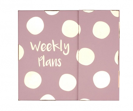 Tedenski planer Weekly Plans