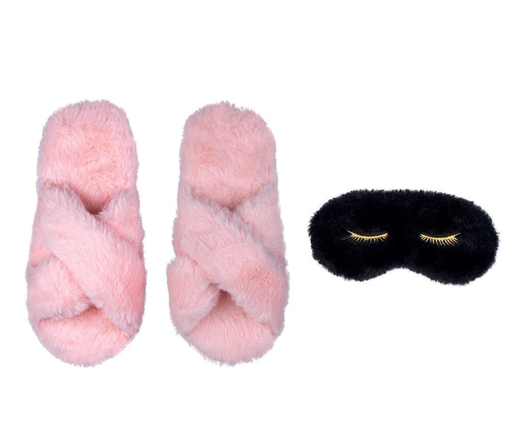 Комплект домашни пантофи и маска за сън Sleeper